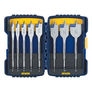 Irwin 8 Piece Flat Speedbor® Spade Bit Set