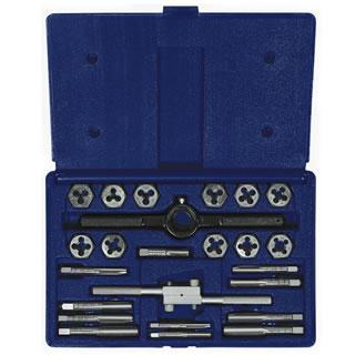 Irwin Hanson 24-pc Fractional Tap & Hex Die Set