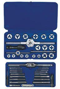 Irwin Hanson 41 pc. Machine Screw/Fractional Hex Tap & Die Super Set