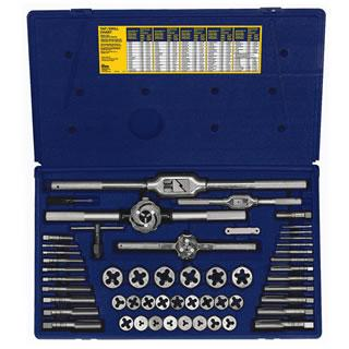 Irwin Hanson 53-pc Metric Tap & Hex Die Set