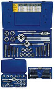 Irwin Hanson 66 PIece Metric Tap and Hex Die Set