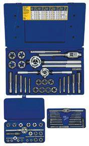 Irwin Hanson 66 Pc. Fractional Set - Hinged Plastic Case