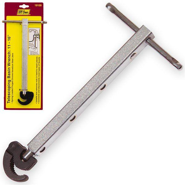 Ivy Classic 19100 Telescoping Basin Wrench