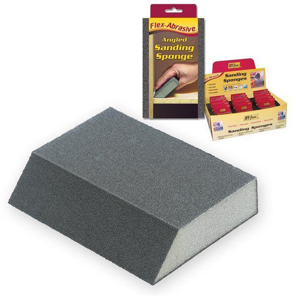 Ivy Classic 42011 Angled Sanding Sponge 80 Grit