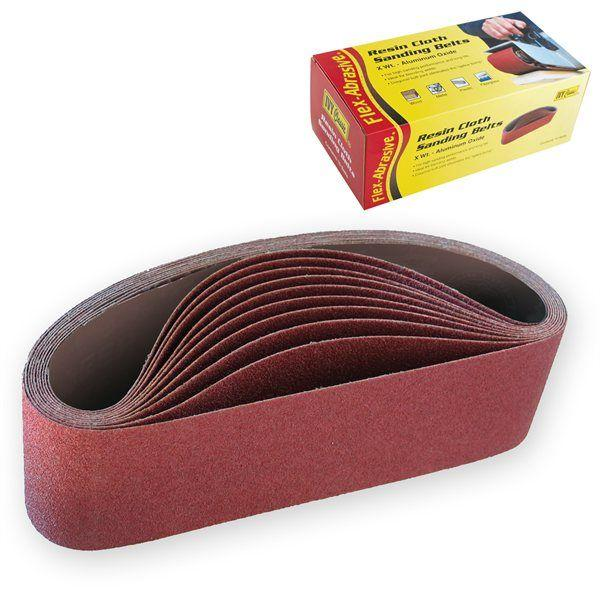 Ivy Classic 43076 3 x 24 Sanding Belt 120 Grit