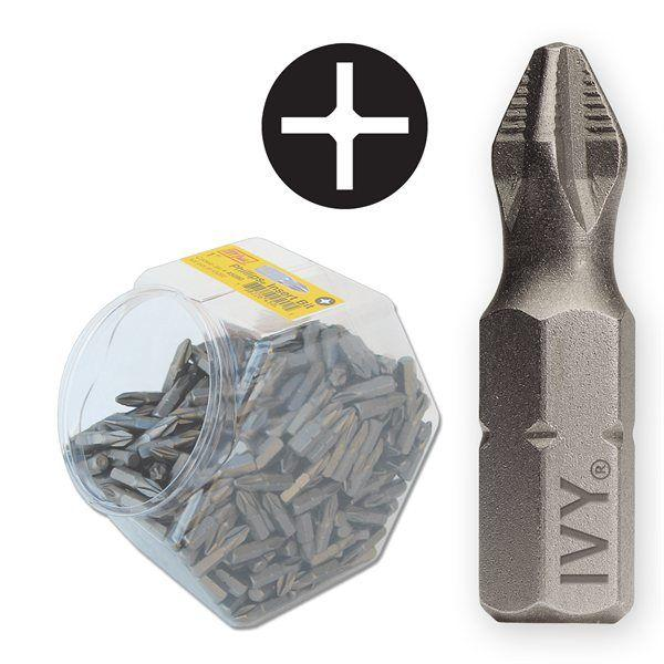 Ivy Classic 45074 1 #2 ACR⪚ Phillips Insert Bit Jar