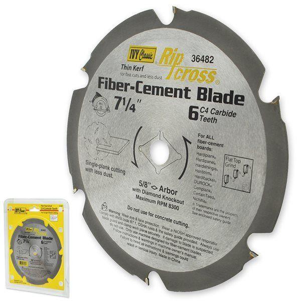 Ivy Classic Carbide Fiber-Cement Saw Blade