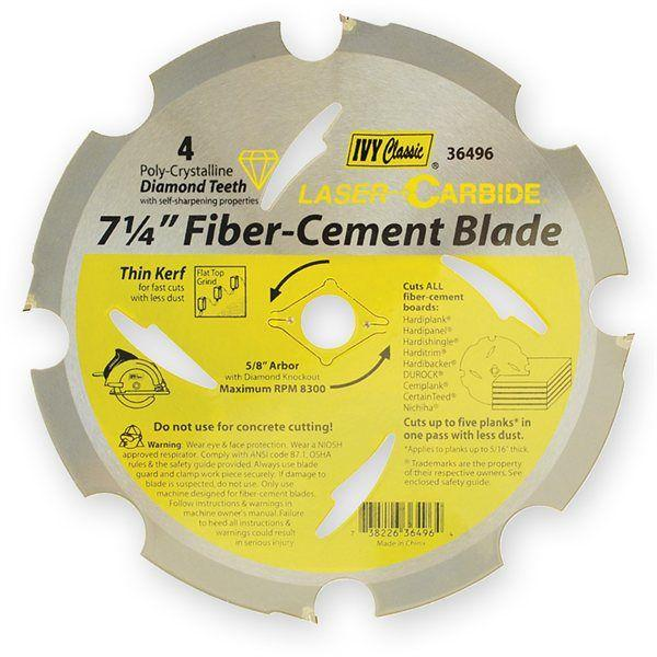 Ivy Classic PCD Fiber-Cement Blade