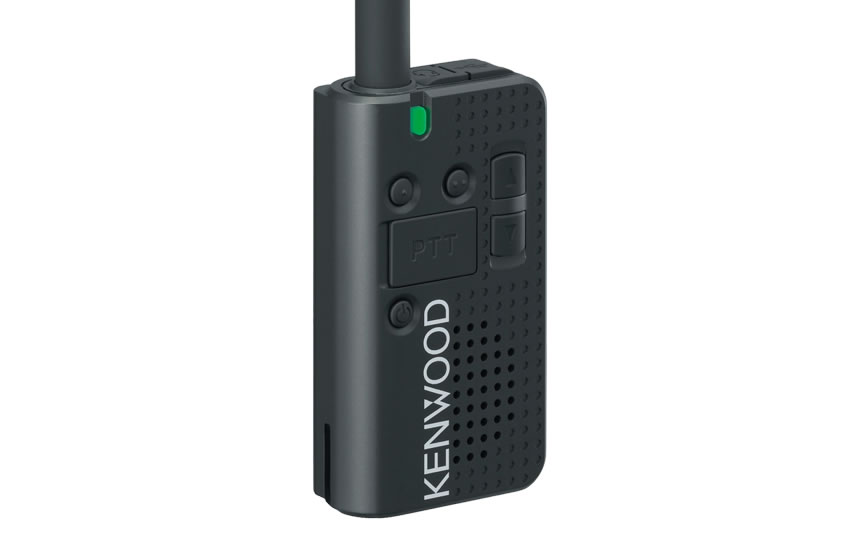 Kenwood PKT-23 Pocket-Sized UHF FM Portable Radio