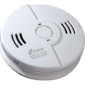 Kidde Carbon Monoxide/Smoke Combo Alarm (AC/DC), Interconnectable (Replaces 9000114E)