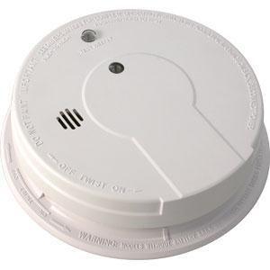 kidde interconnectable ac dc smoke alarm w battery backup smart button sma. Black Bedroom Furniture Sets. Home Design Ideas