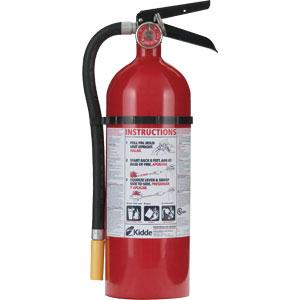 Kidde Pro Line 5 lb ABC Extinguisher w/ Metal Vehicle Bracket