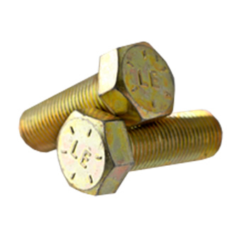 L-9 HEX HEAD CAP SCREW COARSE ALLOY ZINC-YELLOW (U.S.A.)