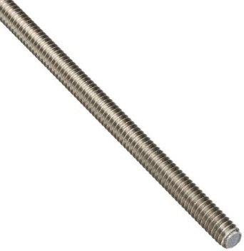 Left Hand 18/8 Stainless Steel Threaded Rods