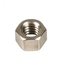 Left Hand Zinc Plated Steel Hex Nuts