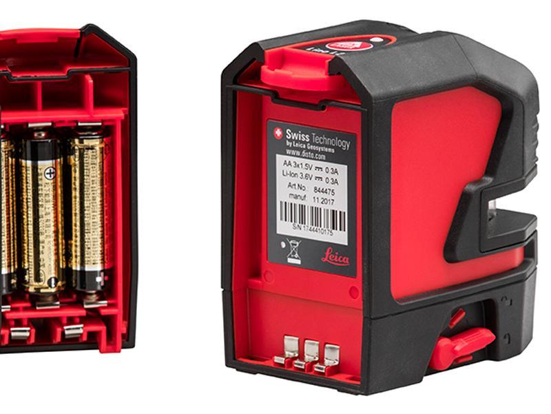 Leica Lino Spare Alkaline Battery Tray