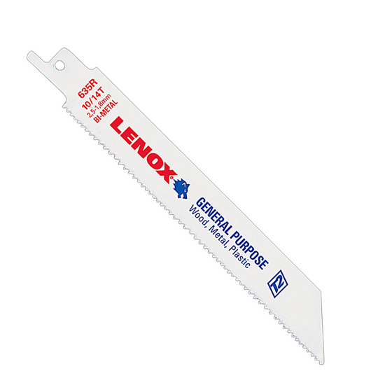 Lenox 810R Bi-Metal General Purpose Reciprocating Saw Blade, Pack of 50