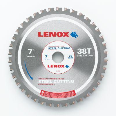 Lenox Metal Cutting Circular Saw Blade, 5/8 Arbor