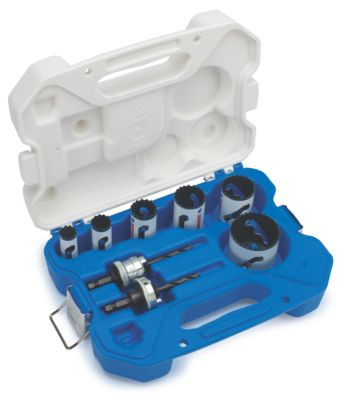 Lenox Welder's Spped Slot® Hole Saw Kit, 9 Piece