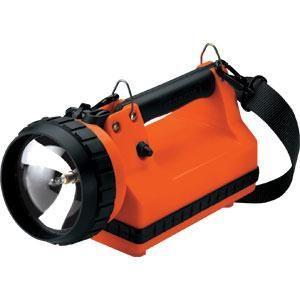 LiteBox® Standard Flashlight, AC/DC, 8 W Spot, Orange