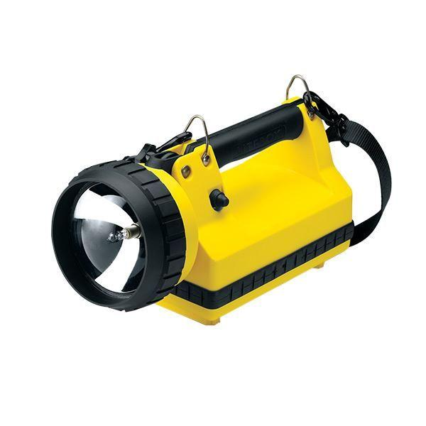 LiteBox® Standard Flashlight, AC/DC, 8 W Spot, Yellow