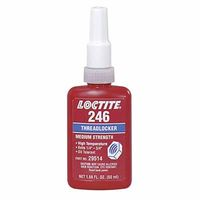 Loctite 246 Threadlocker, Medium Strength/High Temperature 10ml
