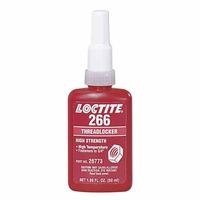 Loctite 266 Threadlocker, High Strength/High Temperature 10ml