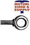Machinery Eye Bolts (Blank Shoulder) Made in USA