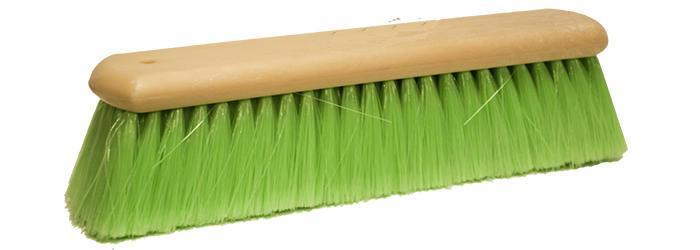 Magnolia Brush 12 Green Flagged Nylon Hand Wash Brush