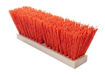 Magnolia Brush OSHA-Orange 16 High Visibility Plastic Street Broom