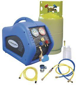 Mastercool 69100 Complete A/C Recovery System - Includes a 30 lb. DOT Tank