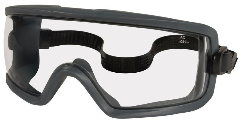 MCR Safety GX1 Clear Anti-Fog Lens Safety Goggles