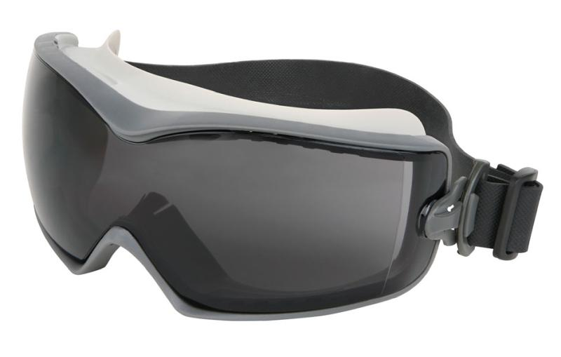MCR Safety Hydroblast 2 Gray MAX6 Anti-Fog Lens Indirect Vented Elastic Strap Safety Goggles