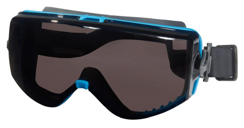 MCR Safety Hydroblast 3 Gray MAX6 Anti-Fog Lens Safety Goggles