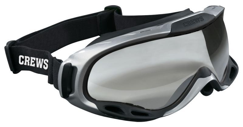 MCR Safety PGX1 Clear Anti-Fog Lens Elastic Strap Safety Goggles