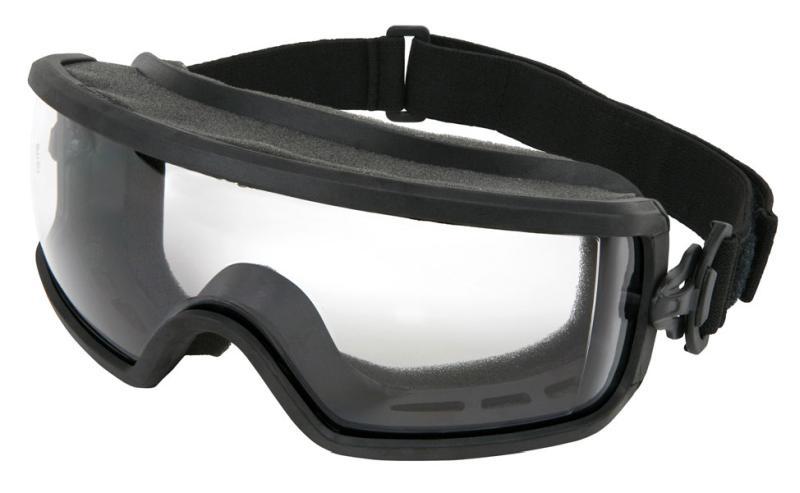 MCR Safety Predator 2 Clear MAX6 Full Foam Venting Anti-Fog Lens Safety Goggles