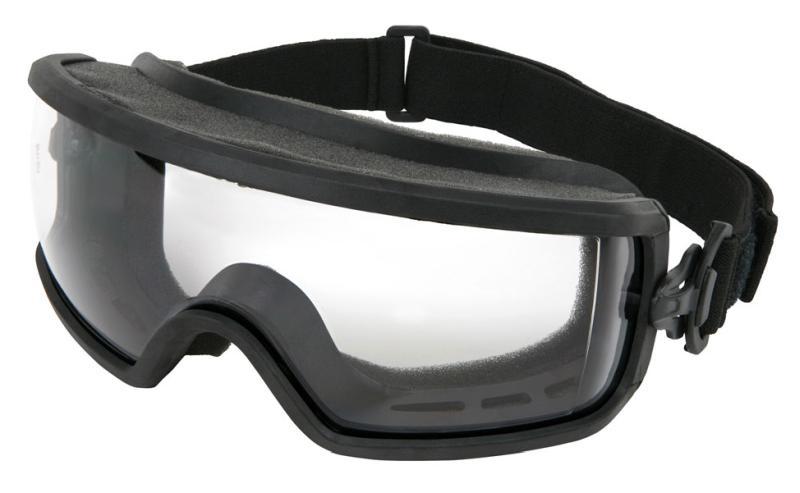 MCR Safety Predator 2 Clear Standard Full Foam Venting Anti-Fog Lens Safety Goggles