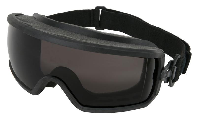 MCR Safety Predator 2 Gray MAX6 Full Foam Venting Anti-Fog Lens Safety Goggles