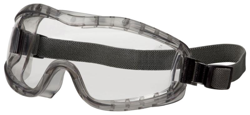 MCR Safety Stryker Clear Anti-Fog Lens Indirect Vent Premium Safety Goggles