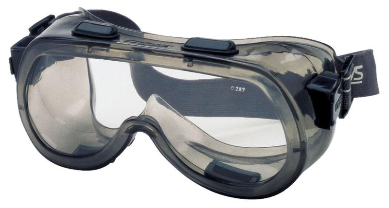 MCR Safety Verdict Clear Anti-Fog Lens Elastic Strap Safety Goggles