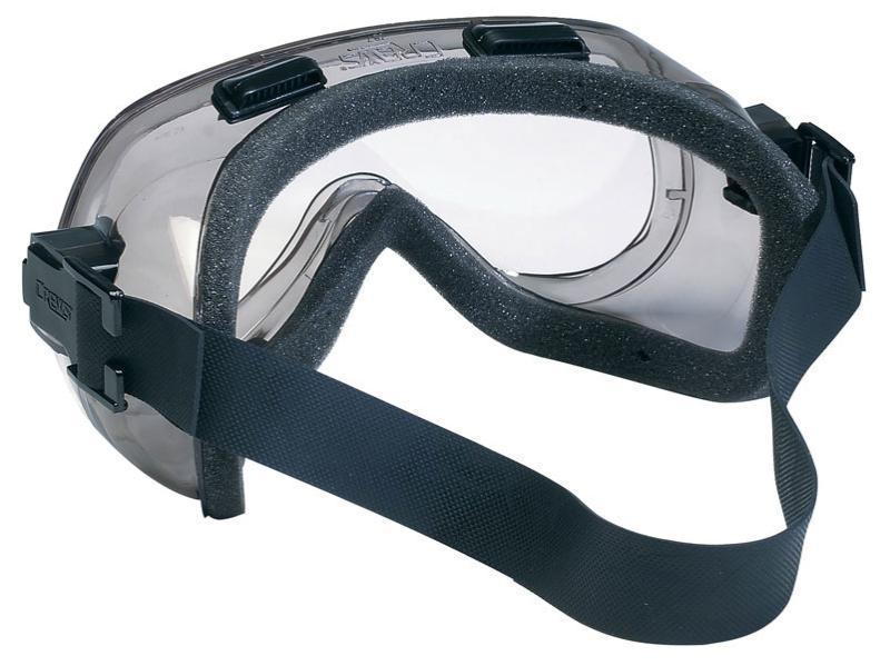 MCR Safety Verdict Clear Anti-Fog Lens Safety Goggles