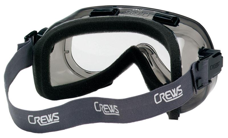 MCR Safety Verdict Clear Foam Lining Lens Safety Goggles