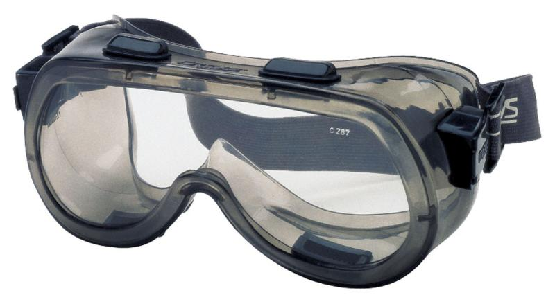 MCR Safety Verdict Clear Hard Coat Lens Safety Goggles