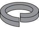 Medium (Regular) Split Lock Washers Spring Steel Black Zinc & Bake Finish