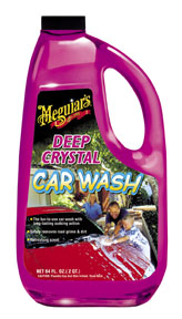 Meguiar's Deep Crystal Car Wash, 64 oz.