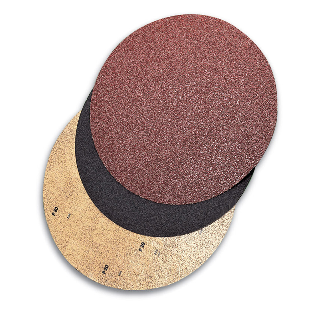 Mercer 19 x No Hole Silicon Carbide Fast Grip Double-Sided Floor Sanding Discs: Grit 80F