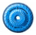 Mercer Type 27 Zirconia Trimmable Flap Disc: Grit/WT 80