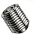 Metric Alloy Steel Cup Point Socket Set Screws by Blue Devil®