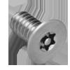 Metric Pin In Torx® Flat Head 18/8 Stainless Steel Machine Screws