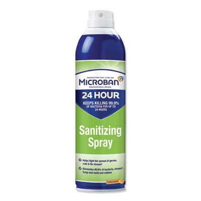 Microban 15oz 24 Hour Citrus Disinfectant Sanitizing Spray